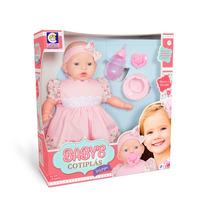 Boneca Babys Faz Pipi Xixi Cotiplás 2068