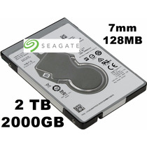 Hd 2tb 2 Teras Notebook Ps4 Seagate 7mm 128mb 5400rpm Sata 3