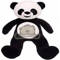 Urso Panda De Pelúcia Gigante 120 Cm Bicho De Pelúcia Grande