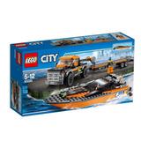 Lego City 60085 Set 4x4 Con Lancha Original