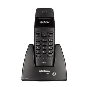 Telefone Sem Fio Intelbras Ts40 Dect 6.0