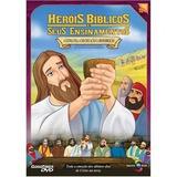 Kit Com 07 Desenhos Biblicos - Dvd