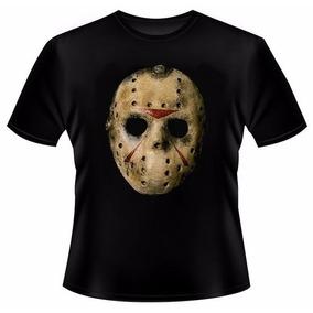 Camiseta Jason Máscara Sexta Feira 13 Terror Halloween - 184