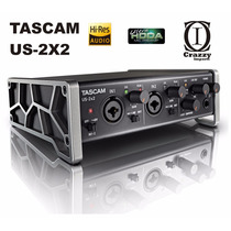 Interface Tascam Us 2x2 - Placa Audio Premium