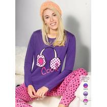 Pijama De Inverno Talle Especial Xxl Y Xxxl Susurro 2010 Dor