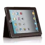 Capa Livro Case Luxo De Couro Protetora Apple Ipad 2, 3 E 4
