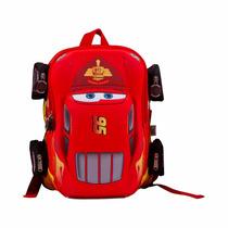 Mochila De Cars Rayo Macqueen Para Niños De Kinder Ce382