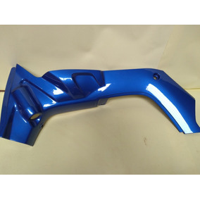 Carenagem Interna Crypton-105 Azul Metalico Ano 2004