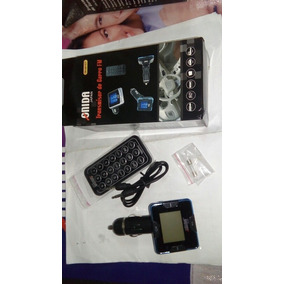 Transmisor Fm 4 En 1 Mp3 Usb Con Control Iphone Ipod Mp4 Sd
