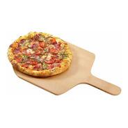 Pala Para Pizza Madera Mango Corto Para Horno - Presentar