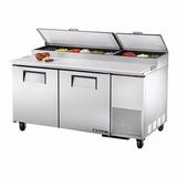 Balcão Refrigerado Para Preparação De Pizza True Tpp-60