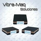 Base / Taco Antivibratorio Corcho Y Goma 100 X 100 X 25mm