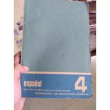 Libro Del Maestro Español Cuarto Grado 80s