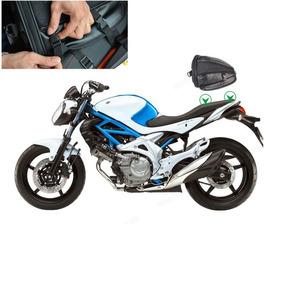 Bolsa De Banco Alforje Traseiro Esportivo Custom Para Motos