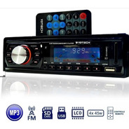 Radio Fm P/ Carro Mp3 Automotivo Usb Sd Aux Player Som