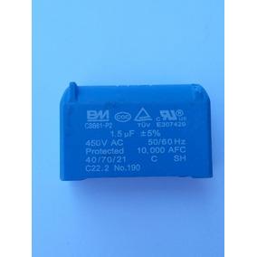 Capacitor Cbb61 1,5 Uf 450v Para Placa Ar Condicionado Split