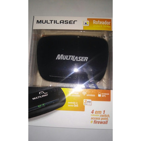 Roteador Switch Access Point E Firewall 150 Mbps Multilaser