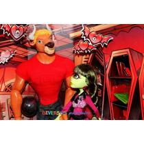 Monster High Manny Taur & Iris Clops Sdcc 2014 - Original