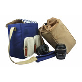 Estuche P/ Camara Reflex Perfect Choice Pc-082132 Navy