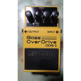 Vendo O Cambio Pedal De Bajo Boss Bass Overdrive Odb3