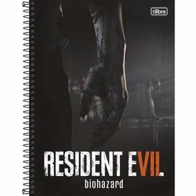Caderno Resident Evil Espiral Capa Dura 1 Matéria