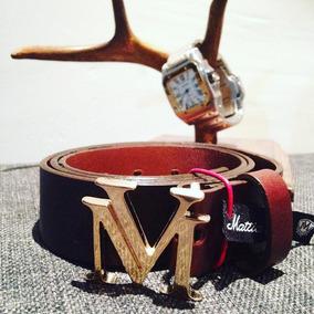 Cinto Mattia Vencchi Lv Hermes 100% Piel
