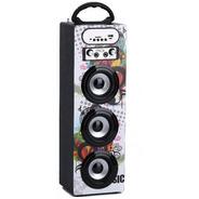 Parlante Triple Usb/sd/bluetooth/radio Fm/luces Y C/remoto