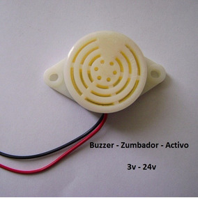 Buzzer Zumbador Piezoelectico 3v-24v Activo Arduino Pandatec