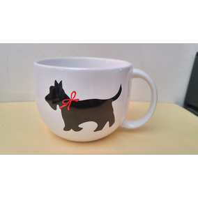 Taza Black Scottish Terrier Dog Souvenir By Talbots Perro