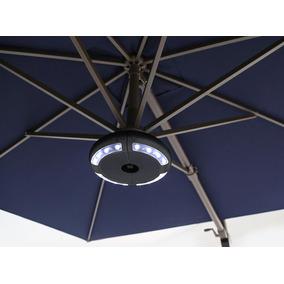 Luminaria Com Caixa De Som Bluetooth Para Ombrelone Wupa