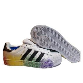 Tenis adidas Superstar Paint Pride Dama Oferta D70351