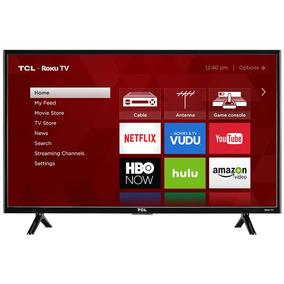 Smart Tv Con Roku 32 Pulgadas Tcl 32s301 Led Hd 720p Wifi