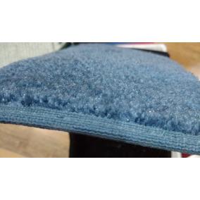 Tapete Tipo Alfombra Azul Delgada 3x 2.70 Mts $525