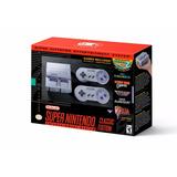 Super Nintendo Classic Snes Mini Nuevo Original + Playera