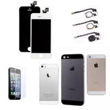 Kit Display Completo + Carcaca Iphone 5 5s + Home + Pelicula