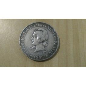 Moeda 2000 Reis 1908