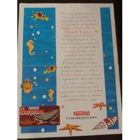 Scanner - Carta De Apresentação Álbum Chocolate Surpresa