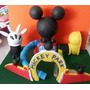 Casa De Mickey Mouse En Masa Flexible