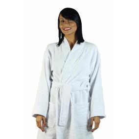 Roupão De Banho Unissex Plus Size - 100% Algodão - Atoalhado