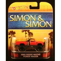 1980 Dodge Camion Macho * Simon & Simon * Hot Wheels 2013 R