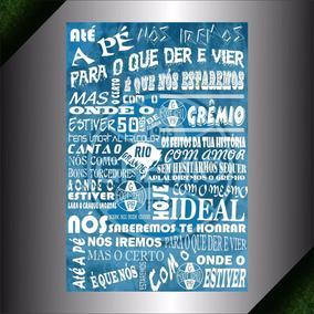 Poster Hino Do Grêmio