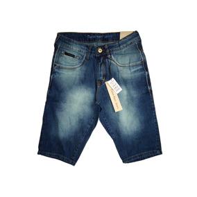 Bermuda Jeans Calvin Klein Printed Two Slim Fit Stretch Off