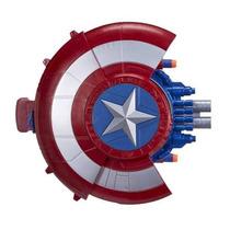 Escudo Capitão América Lança Dardos Nerf - Hasbro
