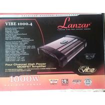 Amplificador Planta Lanzar Vibe 4 Canales 1000watts Nueva