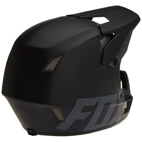 Fox Racing Rampage Comp Dh Casco: Negro Mate Lg