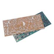 Placa Lisa P/ Montar Amplificador Tipo Ibrape M350 Fenolite