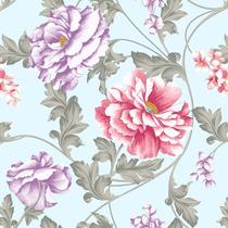 Papel De Parede Quarto Cabeceira Cama Floral Rosas Adesivo