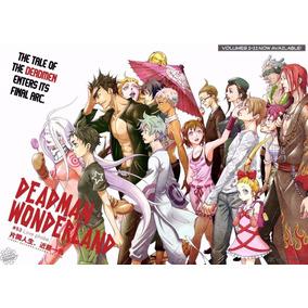 Mangá Deadman Wonderland Do 1 Ao 13 Coleção Digital Pdf