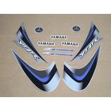 Kit Adesivos Yamaha Ybr 125 2008 Prata 10091
