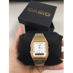 8695fdaa2eb Relogio Casio Branco Digital - Relógios De Pulso no Mercado Livre Brasil